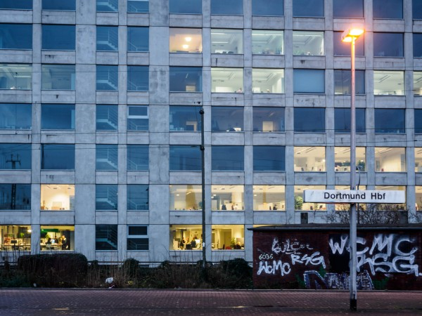 Station, Office, People and Graffity. A mixed bag of Citylife.