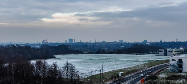 A wide view over Dortmund.